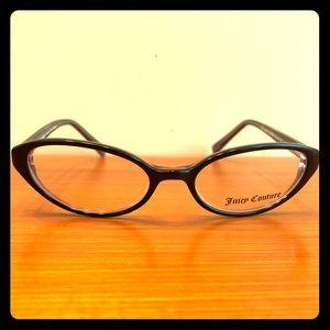 Juicy Couture Black Oval Full Rim Eyeglass Frames